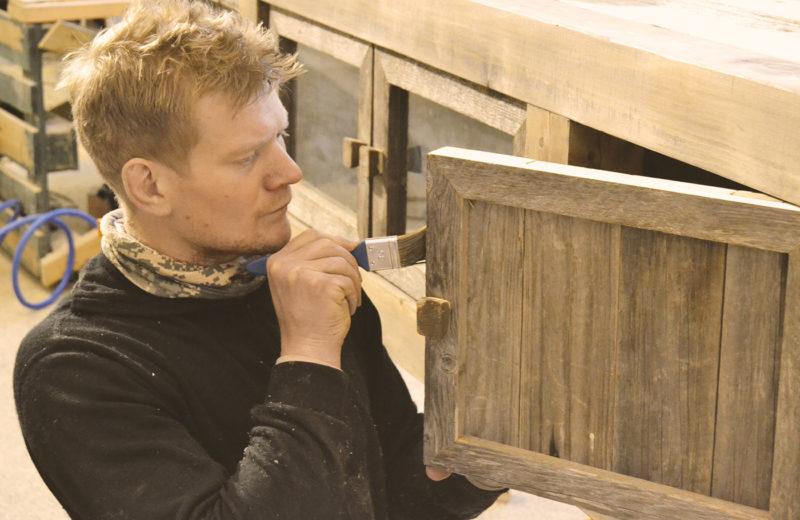 Hyttemøbler med patina