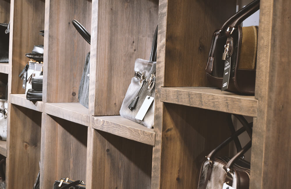 Butikkinnredning fra Fjellmøbler