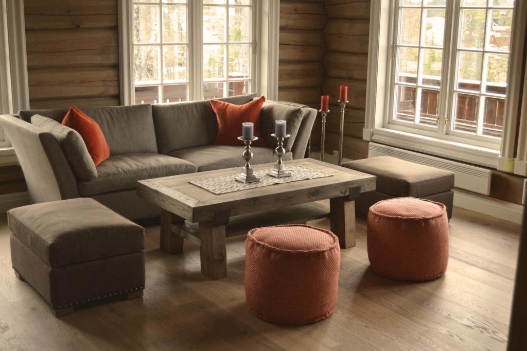 Stilig Rustikke salongbord - norske, håndlagde bord av høy kvalitet YF-41