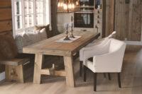 Spisestue til hytte, fra Fjellmøbler