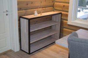 Skreddersydde møbler: Her bokhylle fra Fjellmøbler AS