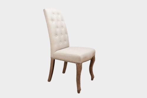 Olivia spisestol (vintage leather grå) Fjellmøbler