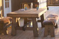 Robuste utemøbler fra Fjellmøbler